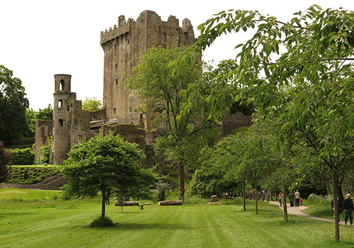 Blarney-Castle-and-trees