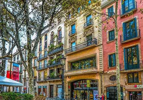 Spain-Barcelona-streets