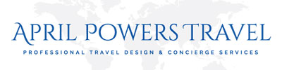April Powers Travel Logo