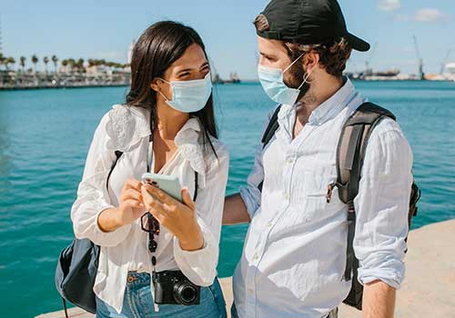 Honeymoon Planning - be prepared with masks